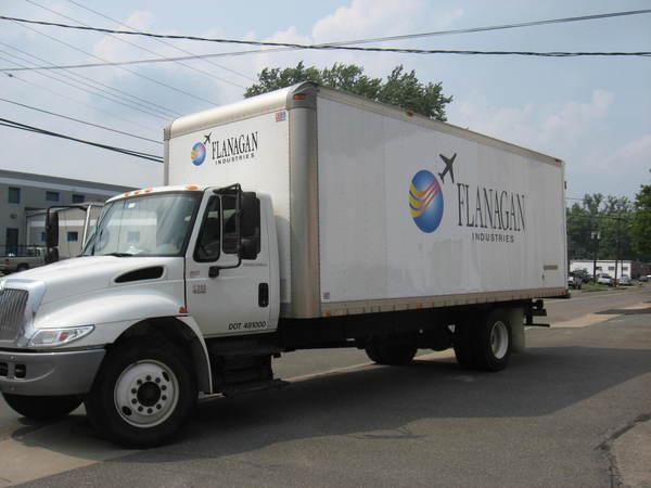 Fleet Graphics, Large Box Truck, Lettering & Logo Graphics