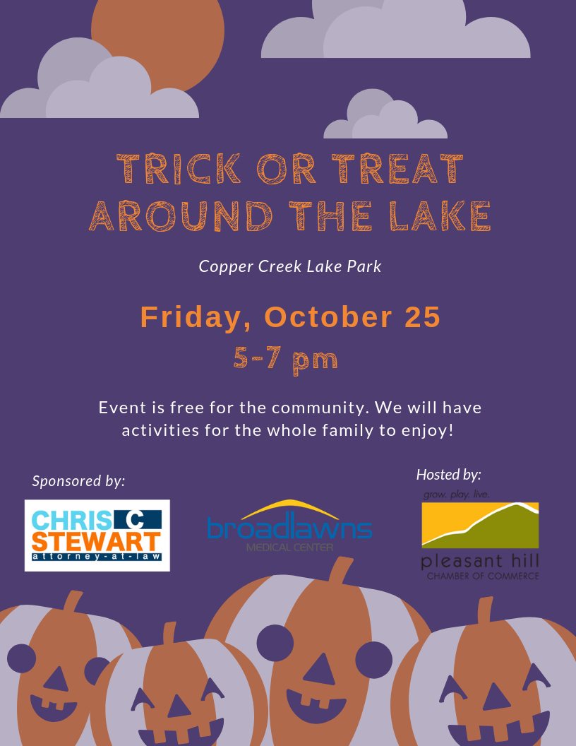 Trick or Treat Around the Lake