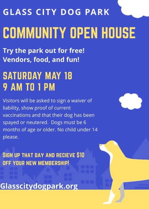 Glass City Dog Park Community Open House
