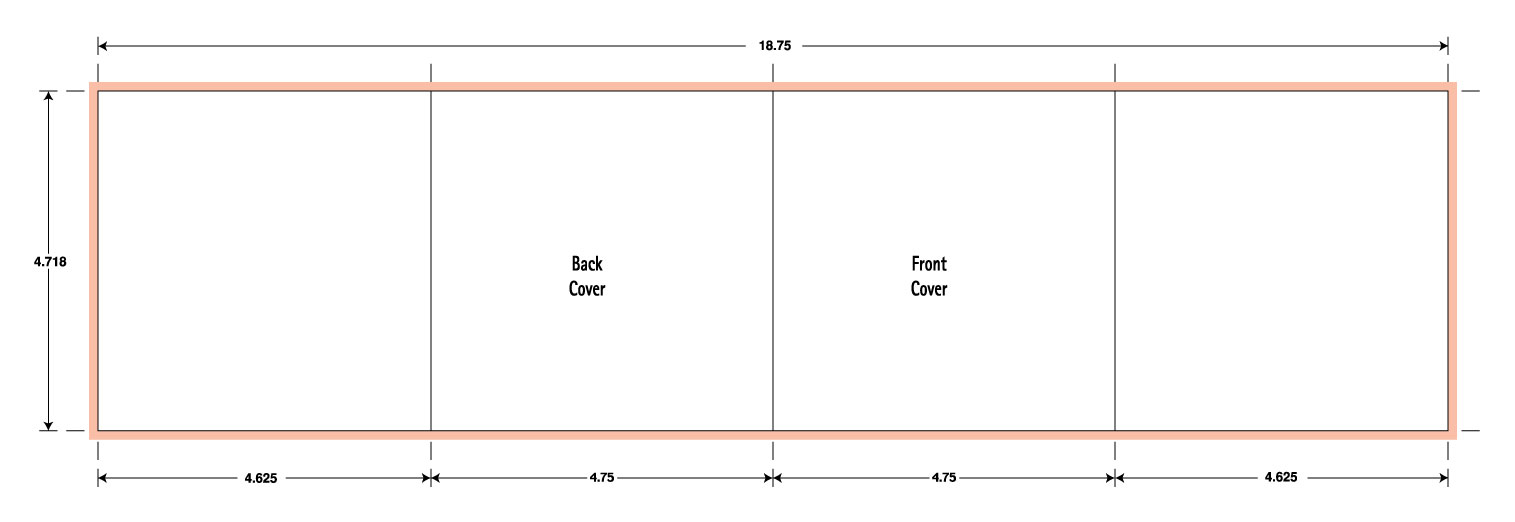 8 Panel CD Folder Gate Fold