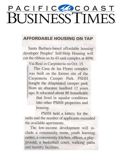 Affordable Housing on Tap - Pacific Coast Business Times