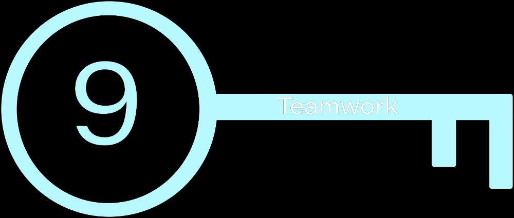 Key 9: Teamwork