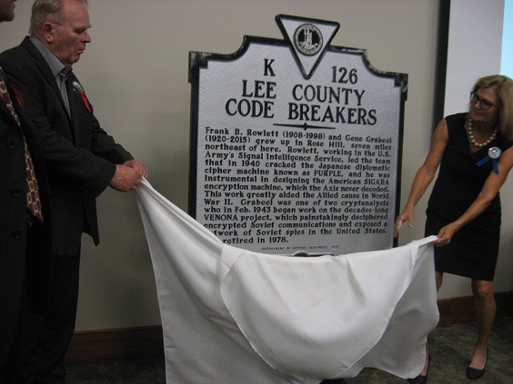 Honoring Two Lee County Codebreakers
