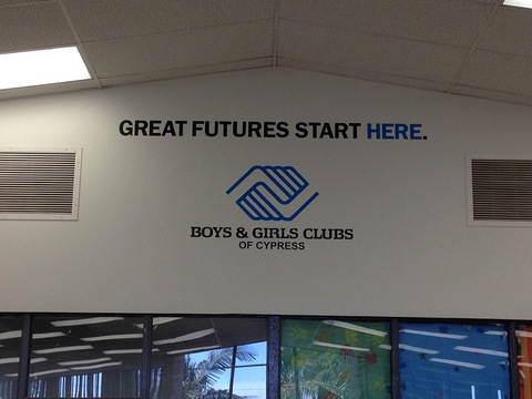 Wall Graphics for boys and girls clubs in Orange County