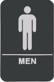 04 Mens Bathroom Sign