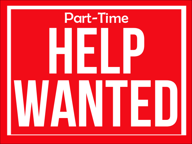 Part Time Help Needed