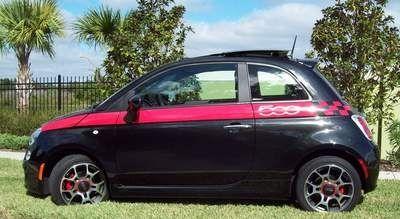 Fiat 500 Striping