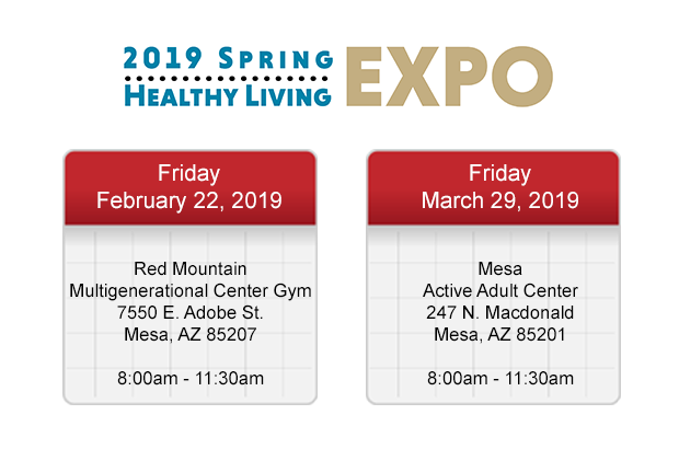 2019 Spring Healthy Living Expos