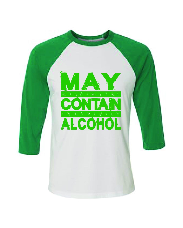 Baseball T-Shirt (May Contain Alcohol)