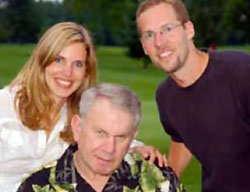 Janelle, Ken and Jack Jennings