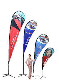 Flags & Teardrop Banners