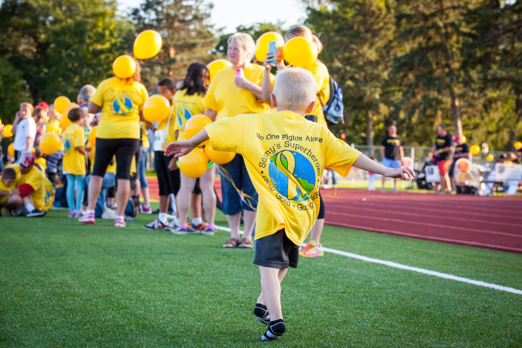 Register for Glow Gold!
