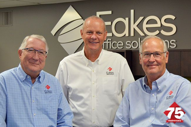 Eakes Office Solutions Celebrates 75th Anniversary