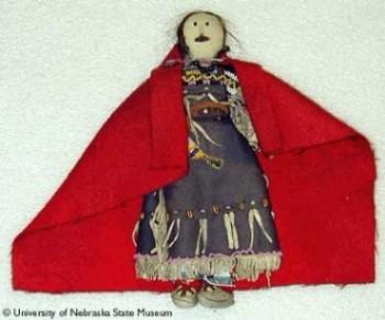 Plains Blackfoot doll