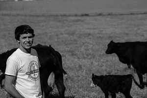 Supervised Agricultural Experience Develops into Value-Added Beef Business for Logan Peters