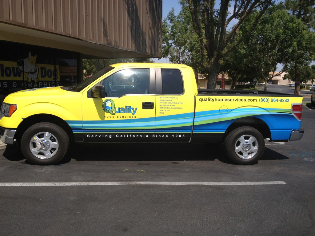 Yellow Dog Signs Amp Graphcs Vehicle Wraps Truck Wraps Car