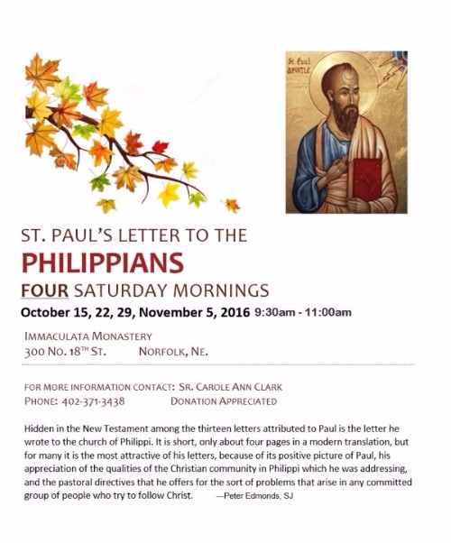 St. Paul's Letter to the Philippians