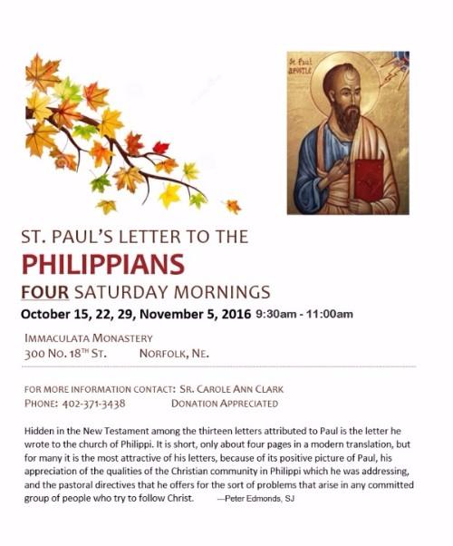 St. Paul's Letter to the Philippians