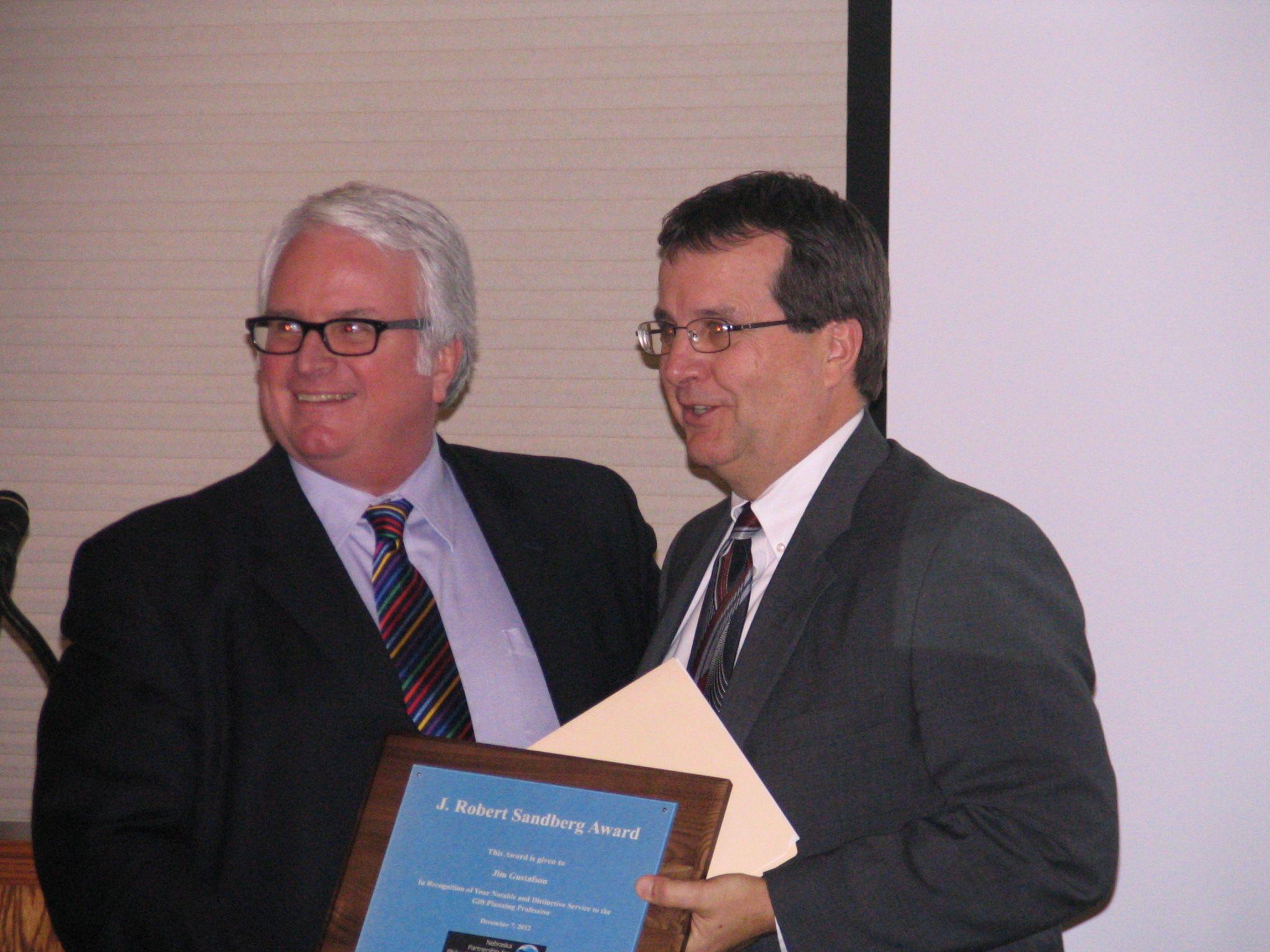 2012 Sandberg Award