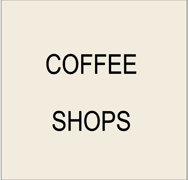 Q25400 - 4. Signs for Coffee Shops