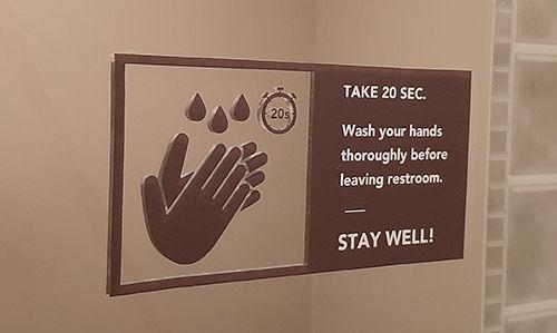 Hand Washing Static Clings