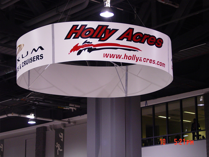 Holly Acres Custom Banner