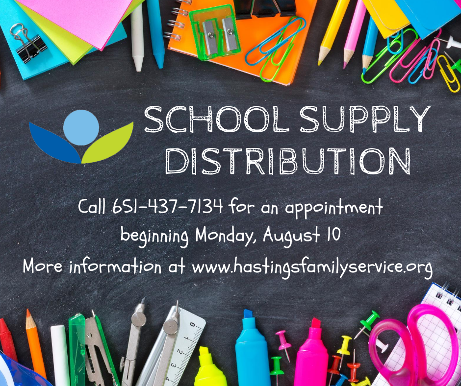 School Supply Assistance Available