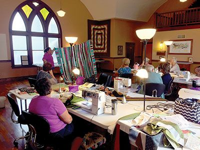 A Center for Camaraderie, Community (and Quilting)