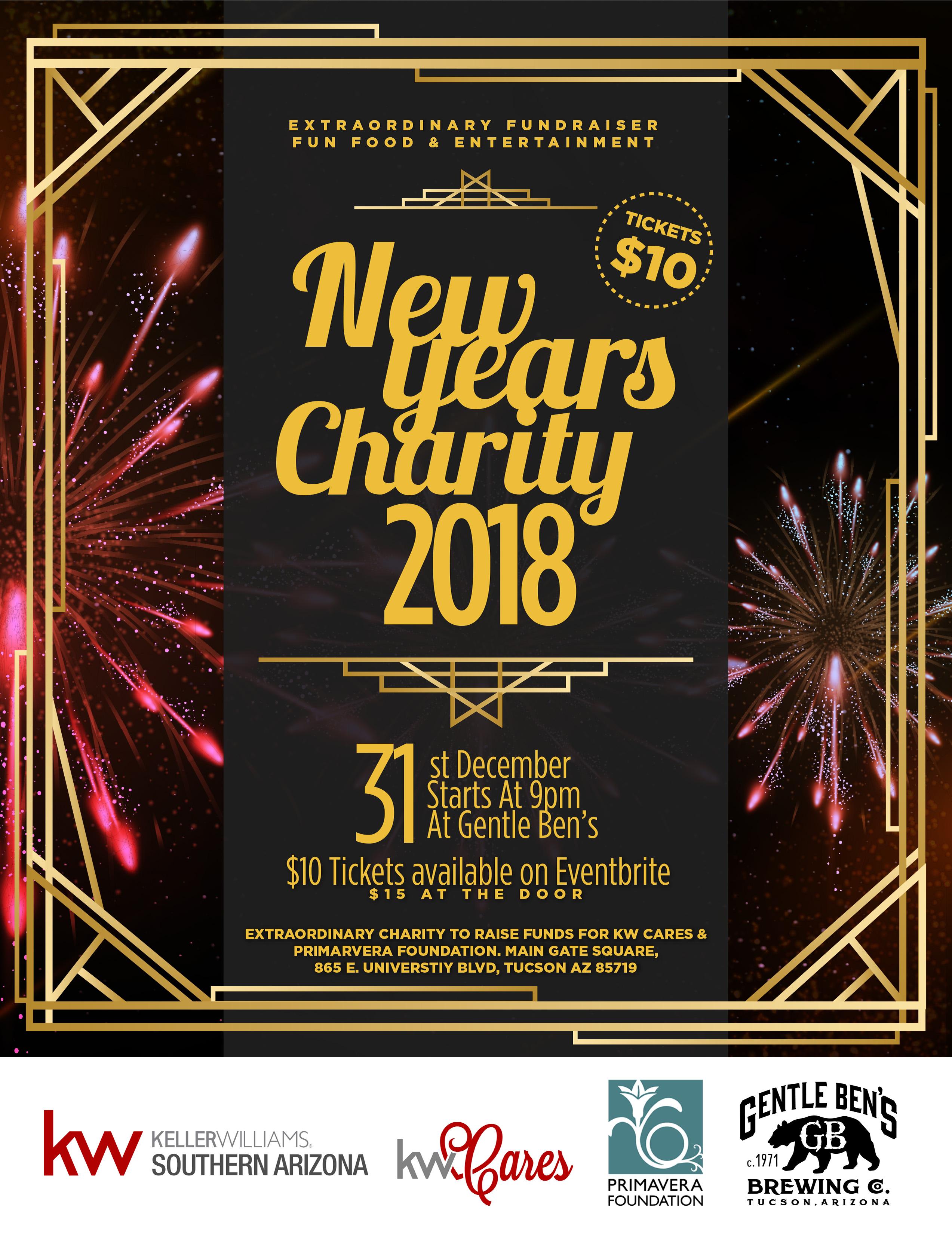 Keller Williams of S. AZ's New Year's Eve Fundraiser to Benefit Primavera