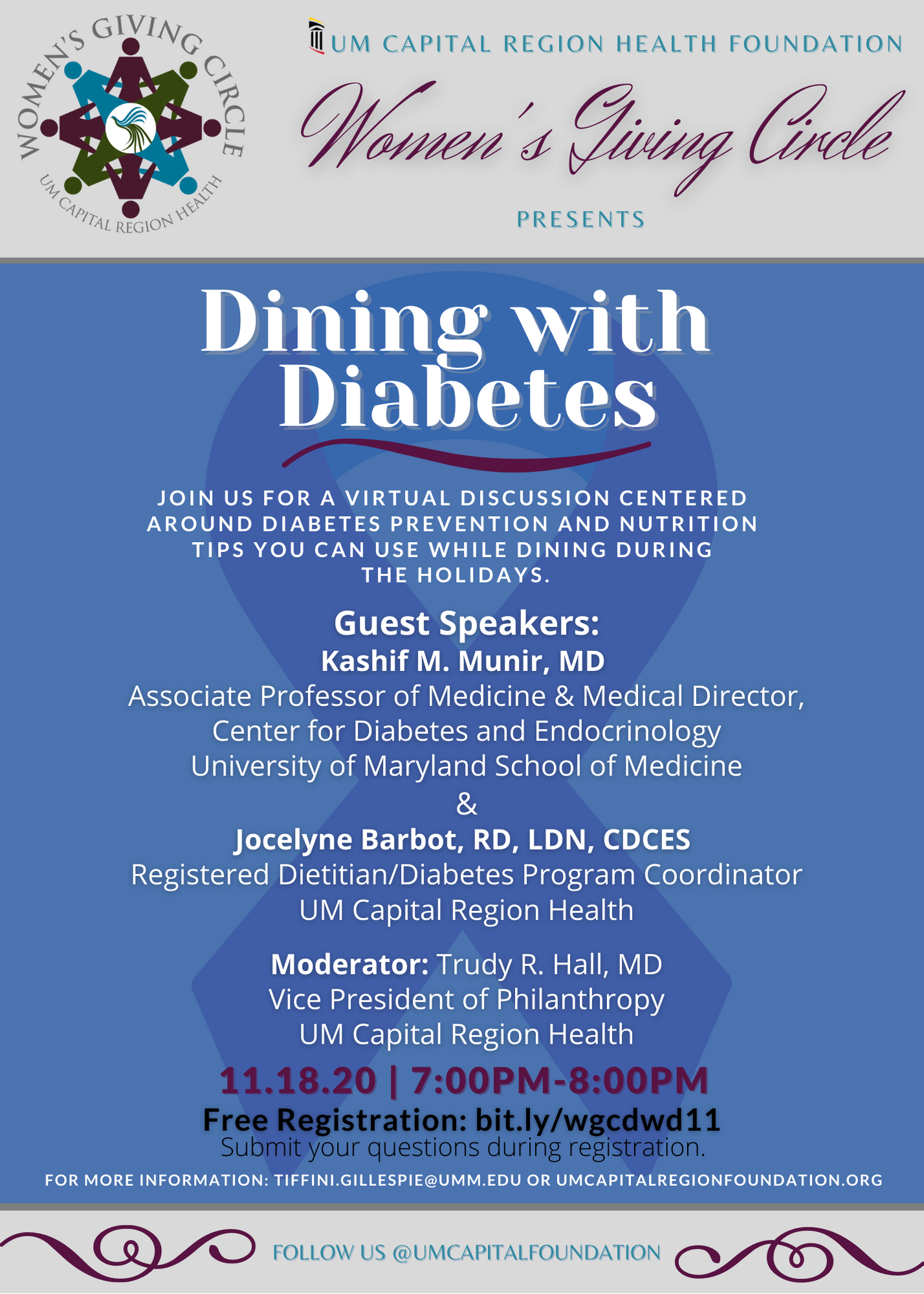 Dining with Diabetes - 11/18