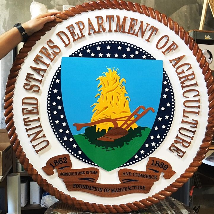 CA1045- Seal of the US Department of Agriculture