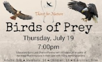 a Thirst for Nature event: Birds of Prey