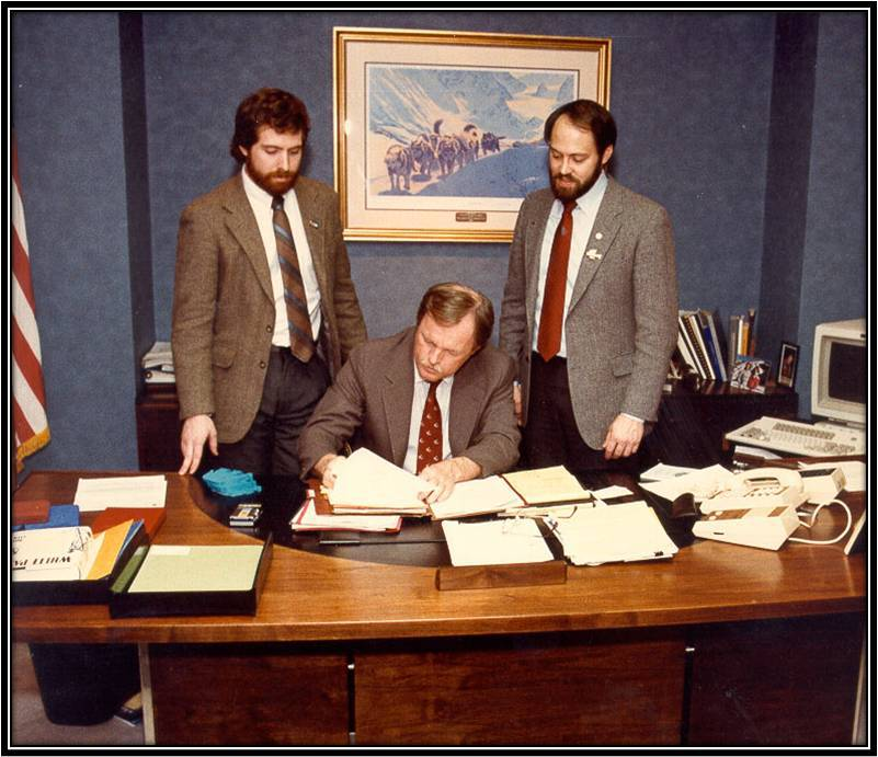 CASA Legislation Signing- 1988
