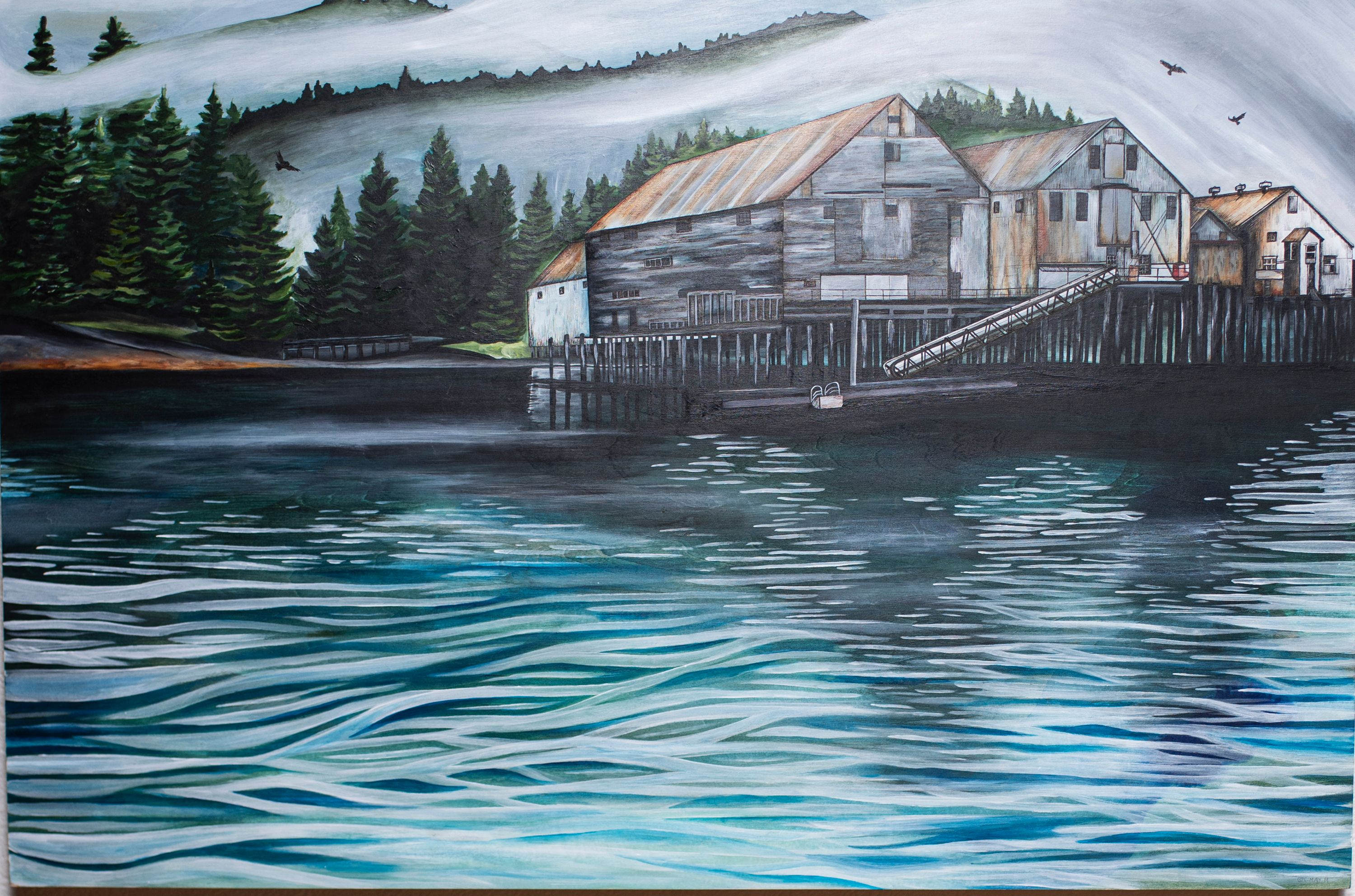 "Cammie May - ""George Inlet Cannery"""