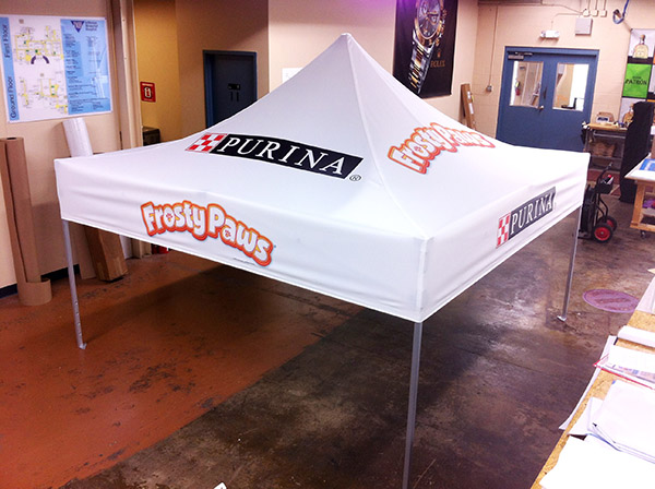 Frosty Paws Tent