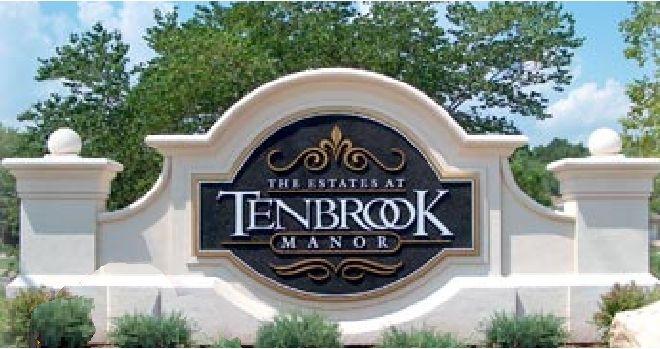 I18006 - Monument Entrance Sign for Large Estate