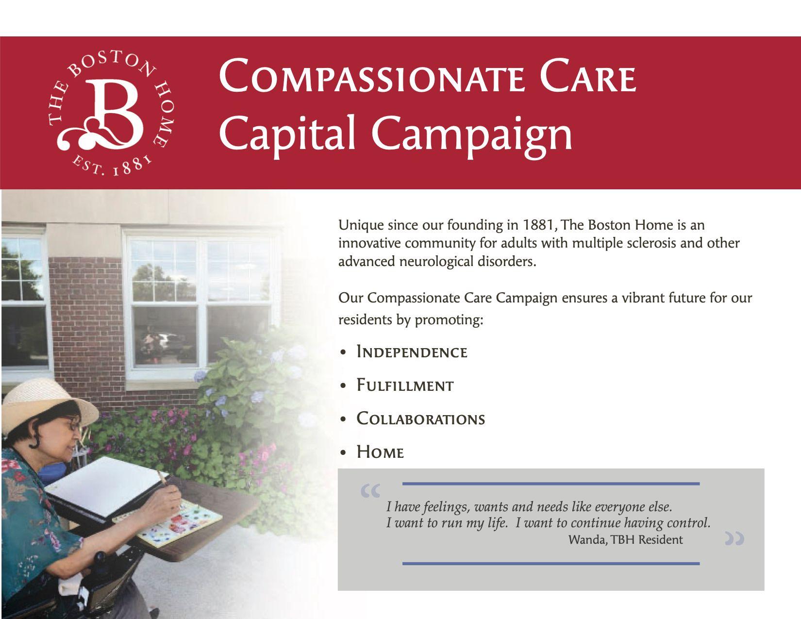 The Boston Home Launches  $2.5 Million Capital Campaign