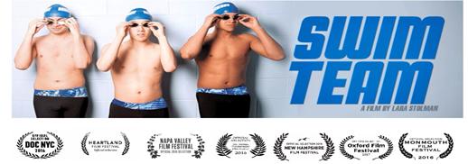 screening of the award-winning new documentary film Swim Team