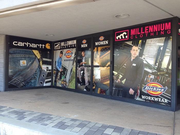 Retail Store Window Graphics Orange County CA