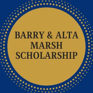 Barry & Alta Marsh Scholarship