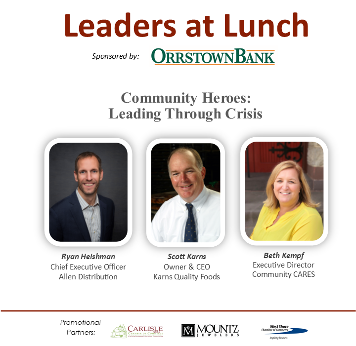 Leaders at Lunch: Community Heroes, Leading Through Crisis