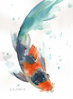 Paint & Sip Night with artist Beth Nehls: Tropical Fish