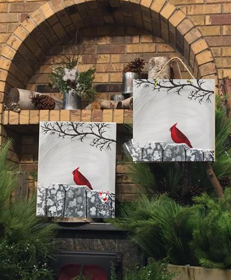Cardinal Love with Creative Spirits