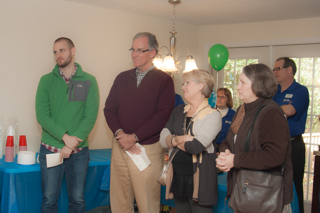 Stephen Williams and Family Who Donated the Property
