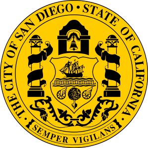 X33157 - Seal of the City of San Diego, California