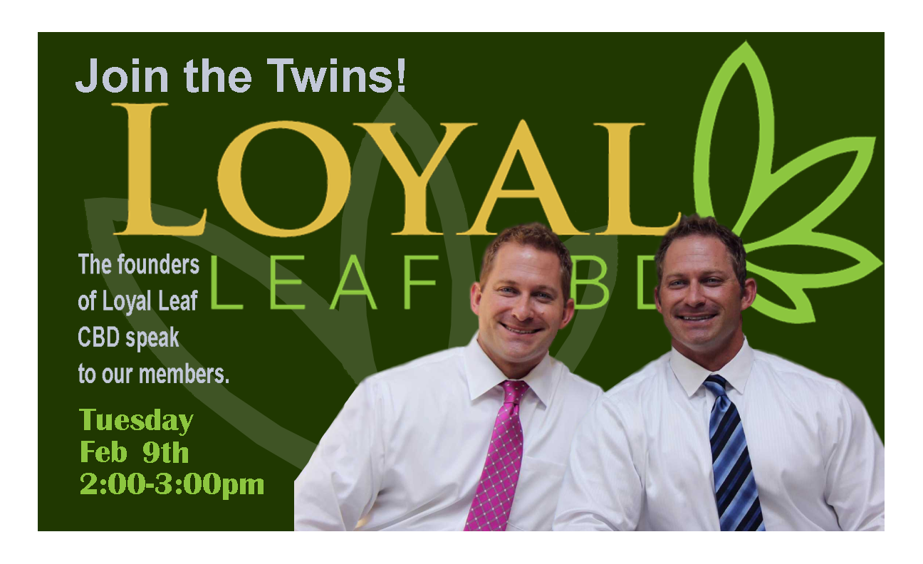 Loyal Leaf CBD Event on Zoom