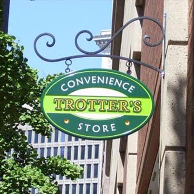 Convenience Trotter's Store sign