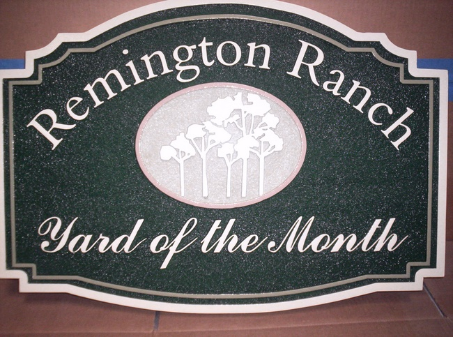 KA20905 - Remington Ranch HOA Yard-of-Month Sign