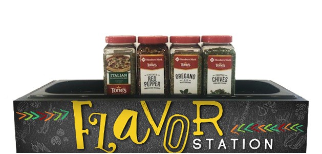 Chalk Flavor Station - Single Pan