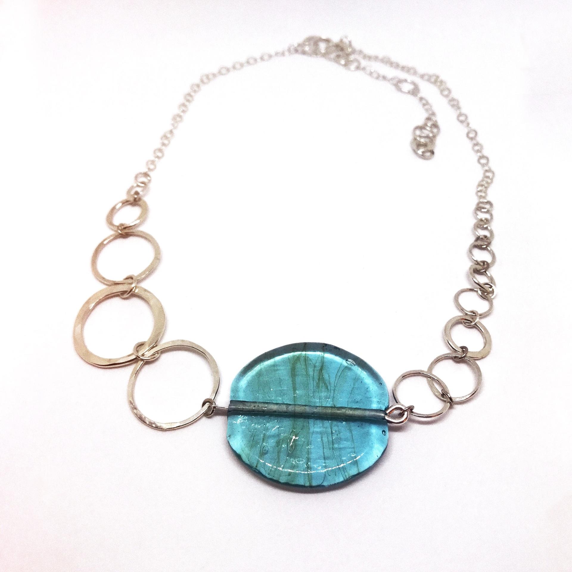 Sterling Silver & Glass